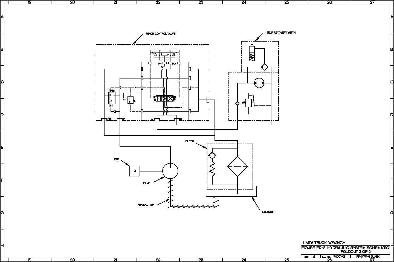 hydraulic system    schematic     TM92320365341 1265