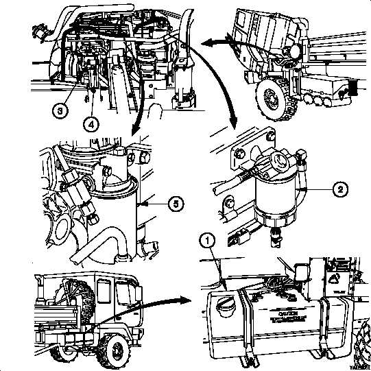 f350 diesel fuel system diagram